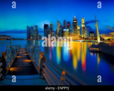 Singapore asia marina bay hotel hotel pool look glance at stock photo royalty free image - Singapur skyline pool ...