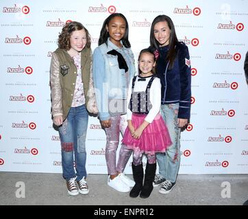 'Annie' For Target Launch Event at Stage 37  Featuring: Zoe Margaret Colletti,Eden Duncan-Smith,Nicolette Pierini - Stock Photo