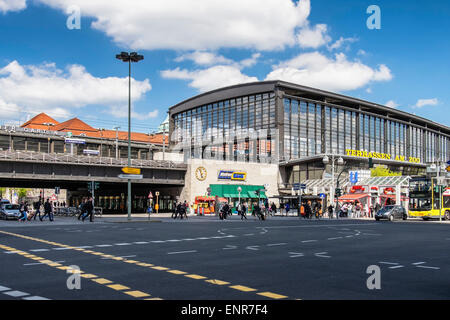 S-bahn Zoologischer Garten, Zoo railway station, Berlin - Stock Photo