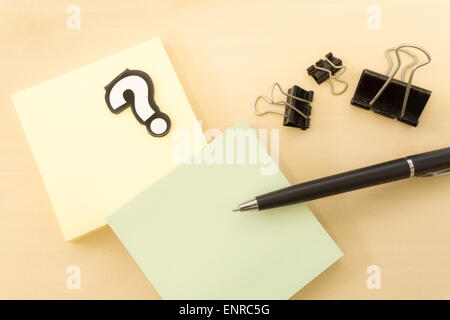 Business Concept with Office Tools on Table - Stock Photo