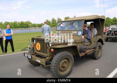 Military Jeep Raf Stock Photo 50838098 Alamy