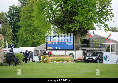 Badminton, UK. 10th May, 2015. Mitsubishi Motors Badminton Horse Trials 2015. Badminton, England. Rolex Grand Slam - Stock Photo