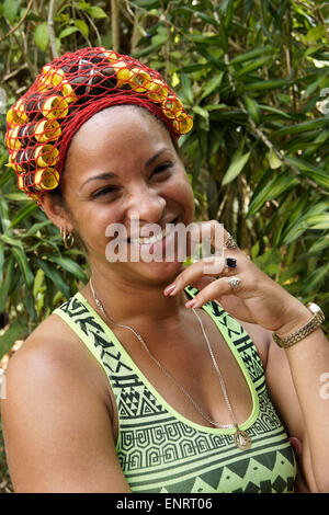Two Wheel Dolly >> Cuban woman w/ curlers in her hair, Trinidad, Sancti Spíritus Stock Photo, Royalty Free Image ...