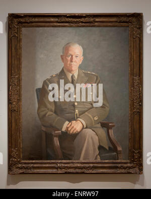 'George C Marshall' by Thomas E Stephens, 1949 - Stock Photo