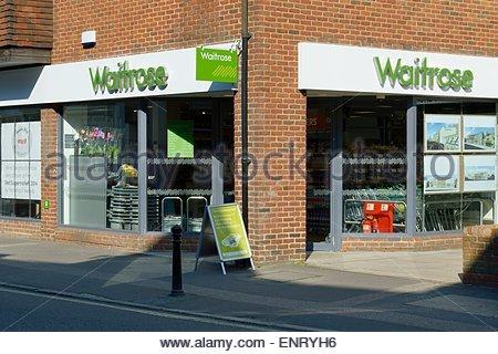 Waitrose store front, Dorking, Surrey - Stock Photo