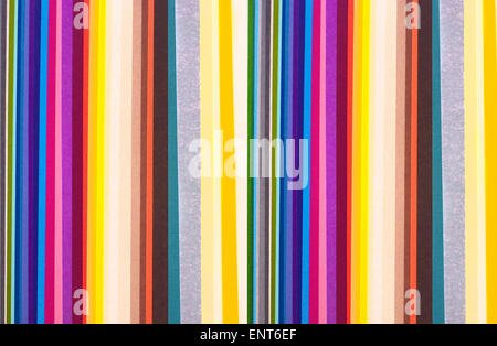 colorful paper stripes - Stock Photo