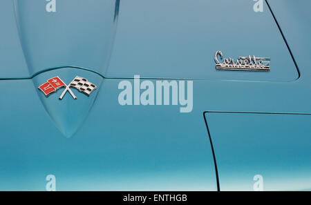 1966 Chevrolet Corvette stingray C2 Convertible. Classic American sports car - Stock Photo