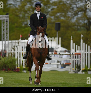 Badminton, South Gloucestershire, UK. 10th May, 2015. Mitsubishi Motors Badminton Horse Trials, day 4 of 4 - William - Stock Photo