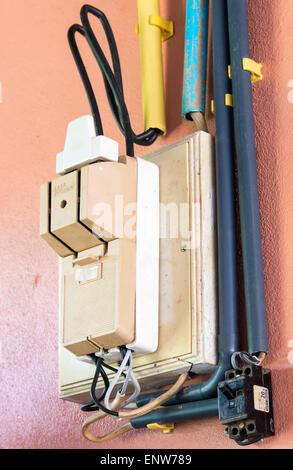Home circuit breaker box Stock Photo, Royalty Free Image: 12845082 ...