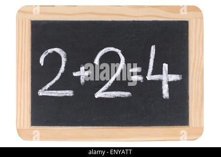 Mathematik auf einer Tafel - Stock Photo
