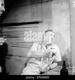 Der deutsche Schauspieler Heinz Weiss, Deutschland 1960er