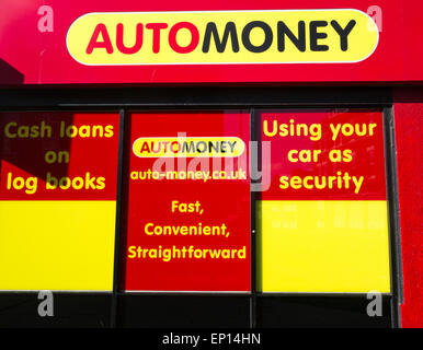 automoney loan shop in uk high street cash loan specialist using lenders ep14hn