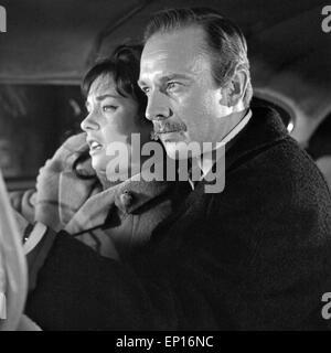 Anatomie eines Unfalls, Fernsehfilm, Deutschland 1965, Regie: Karl Heinz Bieber, Darsteller: Horst Naumann, Vera - Stock Photo