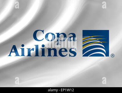 Copa Airlines logo icon flag symbol emblem - Stock Photo