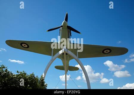 Ww2 Hurricane Fighter Plane Replica From The 1968 Battle