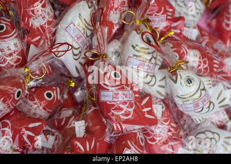 Sea bream fortunes at Sumiyoshi Shrine ( Shinto ) Fukuoka, Kyushu, Japan - Stock Photo