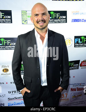 The 29th Annual Fort Lauderdale International Film Festival - Opening Ceremony  Featuring: Kel Thompson Where: Fort - Stock Photo
