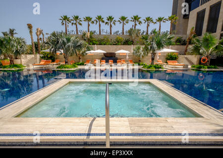Four Seasons Hotel Pool In The Center Of Hong Kong Stock Photo Royalty Free Image 24193016 Alamy
