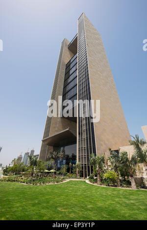 New luxury Four Seasons Hotel Bahrain Bay in Manama Kingdom of Bahrain - Stock Photo
