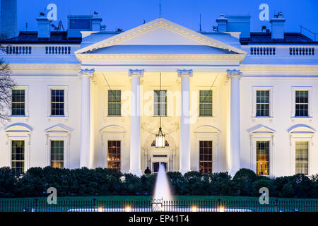 Washington, DC at the White House. - Stock Photo