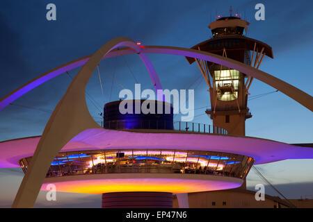 Los Angeles International Airport LAX - Stock Photo