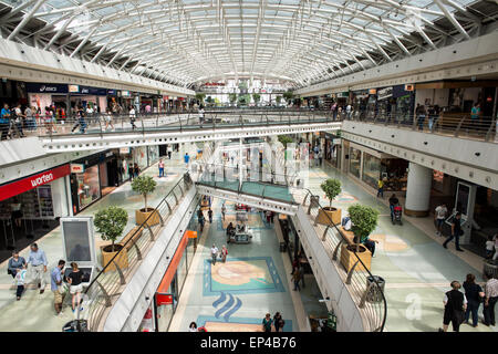 Centro Vasco da Gama shopping mall in the Parque das Atlantico Lisbon Portugal. - Stock Photo