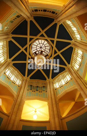 Inside of the clock tower, University of Auckland, Auckland, North Island, New Zealand Stock Photo
