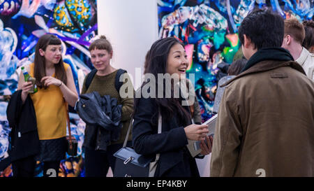 FILE: The winner of the Catlin Art Prize 2015 was named as Zhu Tian. London, UK. 7th May, 2015.   Guests view 'Mother's - Stock Photo