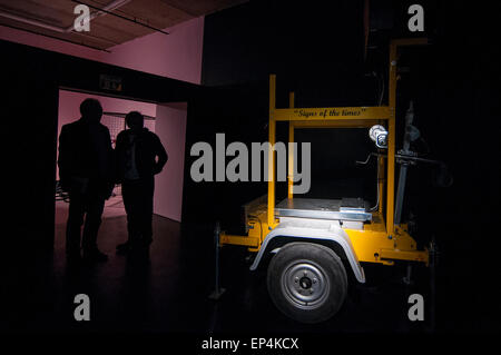 FILE: The winner of the Catlin Art Prize 2015 was named as Zhu Tian. London, UK. 7th May, 2015.   Guests view 'My - Stock Photo