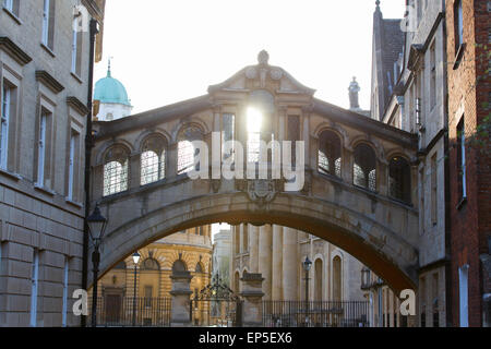 The Bridge Of Sighs, also known as Hertford Bridge in New College Lane, Oxford, UK - Stock Photo
