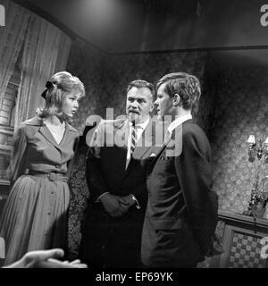 Alsterstrasse, Fernsehserie, Deutschland 1963, Szenenfoto mit Peter Striebeck - Stock Photo