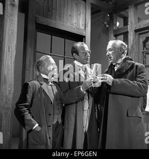 Ein Volksfeind, Fernsehfilm, Deutschland 1965, Regie: Oswald Döpke, Szenenfoto - Stock Photo