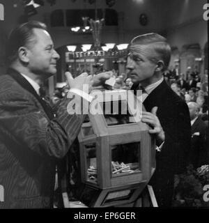 Ein Volksfeind, Fernsehfilm, Deutschland 1965, Regie: Oswald Döpke, Darsteller: - Stock Photo