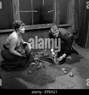 Ein Volksfeind, Fernsehfilm, Deutschland 1965, Regie: Oswald Döpke, Darsteller: Wolfgang Büttner - Stock Photo