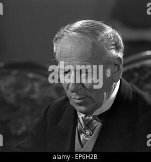 Ein Volksfeind, Fernsehfilm, Deutschland 1965, Regie: Oswald Döpke, Darsteller: Leopold Biberti - Stock Photo