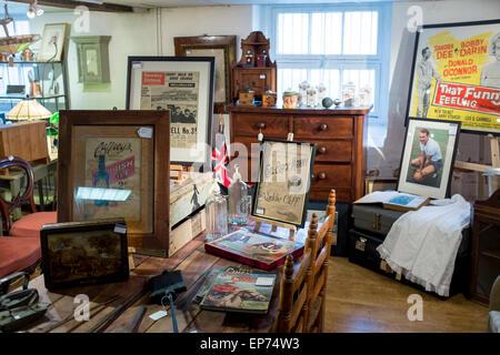 Interior of Brocante, second-hand shop in Stroud ...