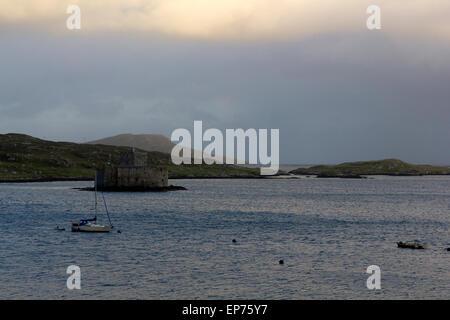 Kisimul Castle, Isle Of Barra, Outer Hebrides Scotland - Stock Photo