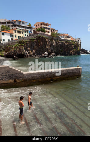 Boys Swimming In The Harbour Stock Photo Royalty Free Image 38490549 Alamy