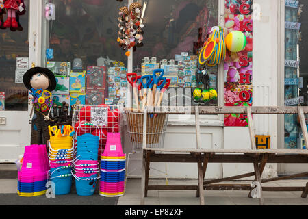 seaside shop in Margate, Kent, England - Stock Photo