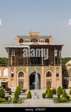 Ali Qapu, Maidan-i Shah, Isfahan, Iran - Stock Photo