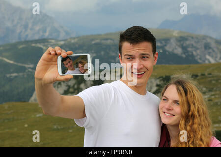 Foto mit dem Smartphone als Erinnerung an den Urlaub