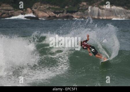 Rio de Janeiro, Brazil. 15th May, 2015. Mick Fanning (AUS) in Round 3 of WCT Oi Rio Pro 2015 in Barra da Tijuca - Stock Photo
