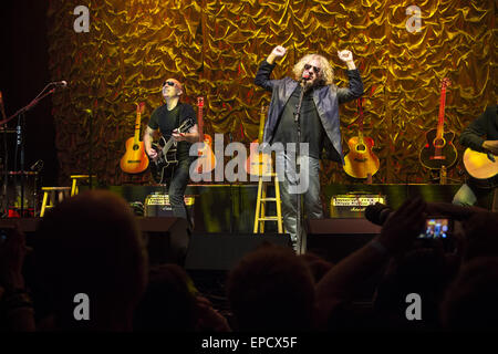 May 15, 2015. 15th May, 2015. San Francisco, California, USA - Acoustic-4-A-Cure benefit featuring musicians Sammy - Stock Photo