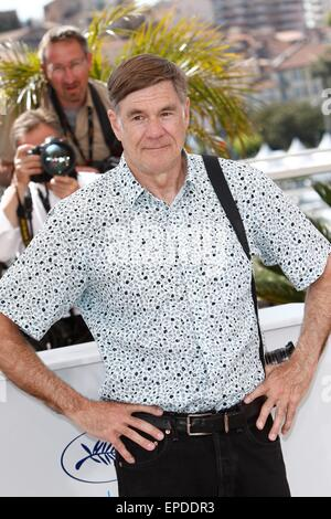 Director Gus Van Sant attends the photocall of The Sea Of Trees at the 68th Annual Cannes Film Festival at Palais - Stock Photo