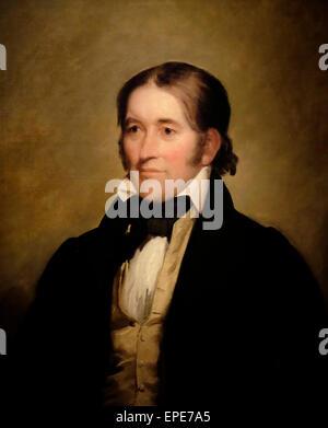 Davy Crockett  1834 - Stock Photo