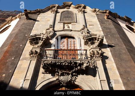 church Nuestra Senora de la Concepcion in  La Orotava, Tenerife, Canary Islands, Spain, Europe - Stock Photo