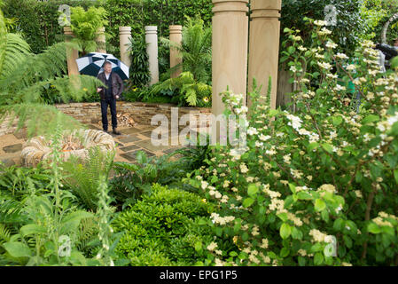 2015 RHS Chelsea Flower Show Press Day, Royal Hospital Chelsea, London, UK. 18th May, 2015. The Time In Between - Stock Photo