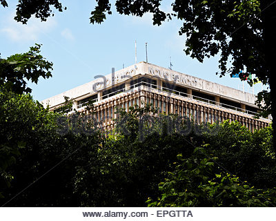 Novo Banco building, Avenida Liberdade, Lisbon, Portugal - Stock Photo