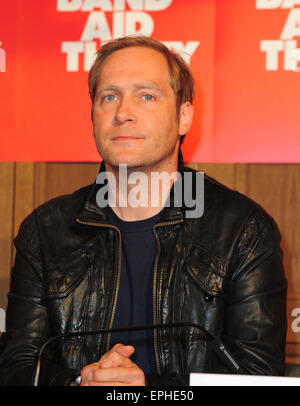 Band Aid Thirty - Press conference at the Soho House in Berlin  Featuring: Thees Uhlmann Where: Berlin, Germany - Stock Photo