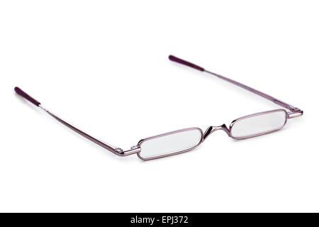 Stylish glasses for reading - Stock Photo